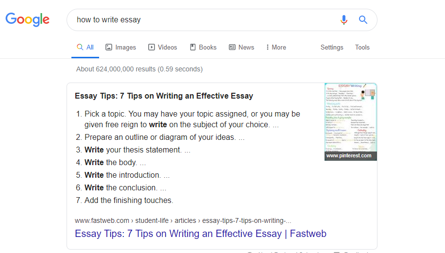 How to Write Content for Google Featured Snippets 2020