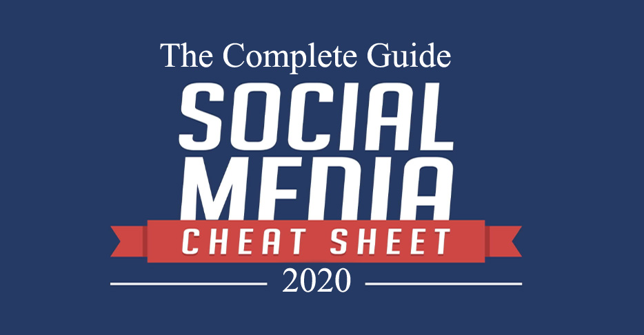 2020 Social Media Image Sizes Cheat Sheet. The Complete Guide