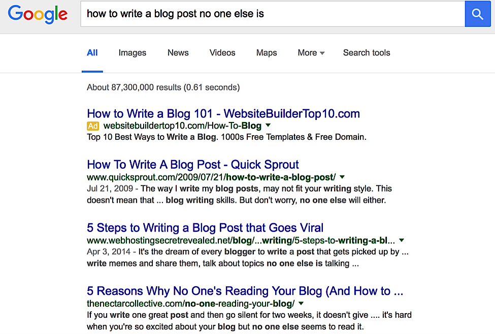 6 Tips to Creating Powerful Blog Posts that No One Else Is Writing